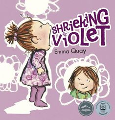 SHRIEKING VIOLET by Emma Quay — a picture book for children about living with a toddler. www.emmaquay.com #picturebook #toddler #emmaquay #earlychildhood Vintage Children's Books, Vintage Kids, Baby Bedtime, Toddler Books, Children's Picture Books, Early Literacy, Chapter Books, Kids Reading, Children's Book Illustration
