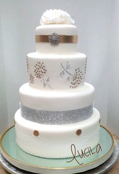 Wedding cakes at Sweet Art by Lucila