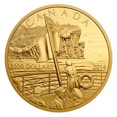 Pure Gold Coin - Anniversary of the Declaration of the First World War - Mintage: 40 Bullion Coins, Gold Bullion, Canadian Coins, Coins Worth Money, Crypto Coin, Gold Money, Coin Worth, Gold And Silver Coins, Coin Collecting