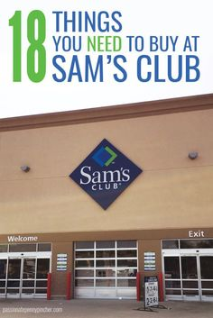 What Should You Buy At Sams Club? - Passionate Penny Pincher Here's a list of what should you buy at Sams Club along with price points. Hopefully it will help you pinch those pennies and save big while you shop! Living On A Budget, Frugal Living Tips, Frugal Tips, Saving Ideas, Money Saving Tips, Money Savers, Sams Club Shopping, Planning Budget, Meal Planning