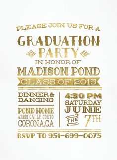Graduation Invitations and Announcements, Bridal Shower Inviations, Babyshower Invitations Customized for You! Custom designed invites for your special occasion. Graduation 2016, Graduation Photos, Graduation Announcements, Graduation Party Invitations, Graduation Party Decor, Invites, Jw Printables, Class Of 2016, Open House