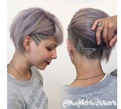Undercut avec frange asymétrique : 31 photos qui vont vous faire craquer ! - Coupe de cheveux