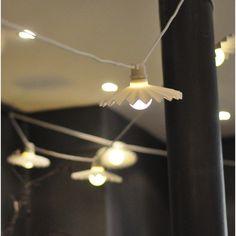 Guirlande lumineuse intérieur et extérieur  leds Bellavista blanc