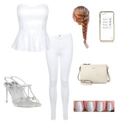 """""""White"""" by monkeygirl19 ❤ liked on Polyvore"""