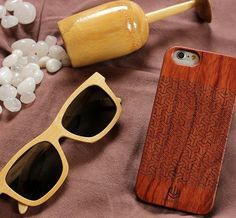 wooden phone case. woodgeekstore. Style your phone with a beautifully engraved rosewood phone case which not only makes your phone look elegant but gives it better protection. Featured here is our tree pattern. The white bamboo sunglasses is one of our most popular models. The polarised lenses and the super light weight of the shades makes it the perfect companion to carry outdoors this summer.