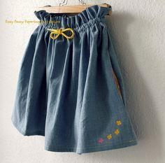 Jeg har fået flere henvendelser ang. min paperbag nederdel, så her kommer en lille tutorial. Tag udgangspunkt i denne tutorial .        Den ...