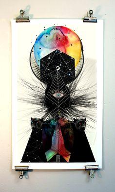 Victoria Topping est une graphiste illustratrice qui vit et travaille à Londres, elle définit son art comme de la musique visuelle. Elle a passé son enfance dans la fabrique de papier peint de ses parents ce qui lui a donné dès son plus jeune âge une sensibilité graphique.  Je vous présente donc une série de ses magnifiques posters aux motifs et couleurs très en vogue.