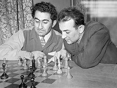 Tigran Petrosian and Victor Korchnoi.