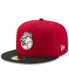 c78388de5c7a2 New Era Cincinnati Reds Batting Practice Diamond Era 59FIFTY Cap