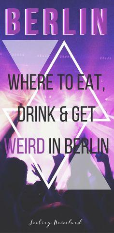 things to do in Berlin at night / Berlin clubs / Berlin nightlife / Berlin, Germany / Best nightclubs in Berlin
