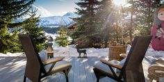 This enjoyable view could be yours this #winter in #Courchevel  Chalet Névé: http://clni.st/1nFozvV www.lecollectionist.com