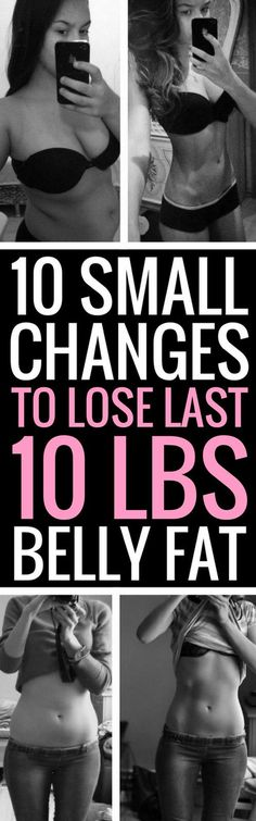 10 ways to lose those last 10 pounds.