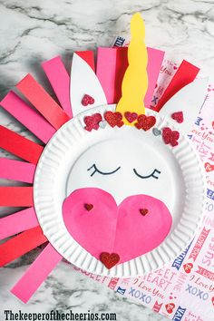 unicorn-paper-plate-craft Happy Valentine Day HAPPY VALENTINE DAY | IN.PINTEREST.COM WALLPAPER EDUCRATSWEB