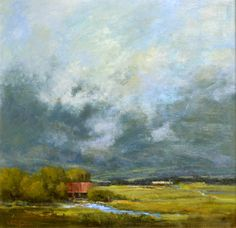 """Bethanne Kinsella Cople, """"Symphony in Blue and Green"""" --at Principle Gallery"""