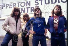 Shepperton Studios Rehearsal for BOO tour Aug/Sept 1980