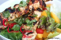 Keep it Beautiful: Wednesday Yummies: Chilli Coconut Chicken Salad