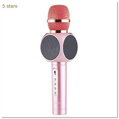 Wireless Microphone Amicool Bluetooth Smartphone