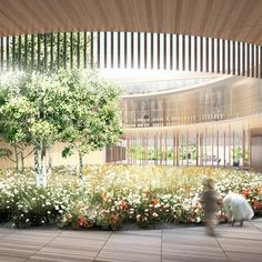 Swiss architects Herzog & de Meuron have won a competition to design a children's hospital and a teaching/research centre in Zurich, Switzerland.