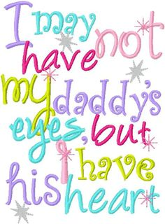 Daddy's Princess Daddy's Girl Embroidery Design by DazzlinStitches, $1.99