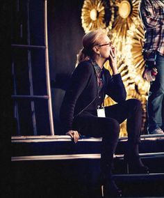At the 87th Annual Academy Awards Rehearsal ~ 2015