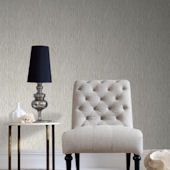 Graham and Brown Grasscloth Cream Wallpaper