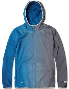 Jacket, fabric, gradient, blue, grey