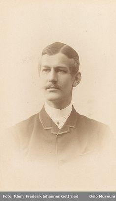 Frederik Johannes Gottfried Hugs, Oslo Norway, 1888, Doctor