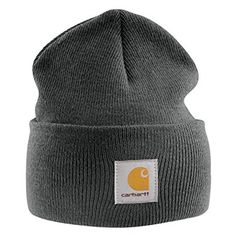 089c282959f Carhartt Acrylic Watch Cap – Charcoal CHA18CLH Mens Winter Beanie Ski Hat  Review Mens Winter Beanies