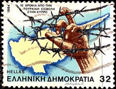 Barbed Wire - Stamp Community Forum - Page 2 Cyprus, Postage Stamps, Poster, History, July 10, Andorra, Coins, Europe, War