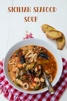 Italian Food Forever » Sicilian Seafood Soup With Couscous