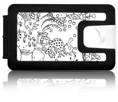 YOSHI SISLAY - Lockbox silicone illustrated wallet - $42.90 - We are shipping worldwide!
