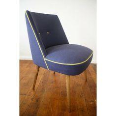 Johnny Moustache | Original Vintage Furniture & Homewares. Mmm yes, reupholstered