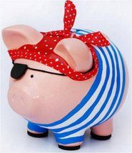 Wooden Piggy Bank, Pig Bank, Personalized Piggy Bank, Diy And Crafts, Arts And Crafts, Cute Piggies, Pig Party, Flying Pig, This Little Piggy