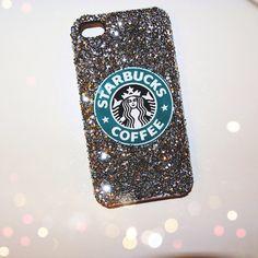 Starbucks coffee phone case by MekdaDesigns on Etsy, $19.99