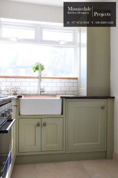 Bespoke Handmade Kitchen sprayed in Farrow & Ball French Grey. The reclaimed Iroko worktop that was salvaged from a science laboratory has a rustic and hard wearing nature to the design. We sell and install kitchens to private clients, get in touch for a quote.