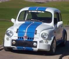 1968 Fiat 600 Abarth Killer Mid-Engine Modified Front