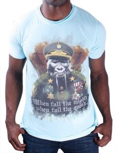 7 Wcked Vrtues When The Mighty Fall Graphic Mens « Clothing Impulse