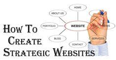 How Website Designers can Create Strategic Websites.