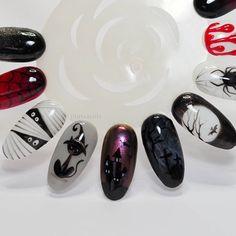 Painted with gel polishes Black Pearl --->bpnails.pl   #nailart #nailsoftheday #nails #nail #hybrydnails #hybrydymanicure #instant #instanail #nails2inspire #paznokciehybrydowe  #paznokcie  #nailartist_manicure #nails #nailswag #gelnails #nailsmagazine  #nailru #nailstagram  #nailitdaily #nailpro  #instagramnails  #halloweennails  #halloween  #beautifulnails #trna #livelovepolish #blacknails #bpnails