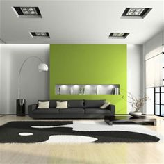gorgeous green interior design for spring, by Nazmiyal Collection