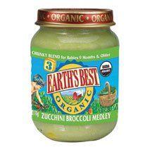 Earthsbest Baby Food-Zuchinni Broccoli(95% Organic), 6-Ounce (Pack of 12) ( Value Bulk Multi-pack) $253.54