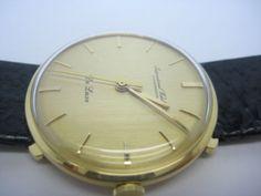 IWC-Schaffhausen-De-Luxe-Vintage-Mechanical-Gold-18Carat-Men-Automatic-Watch