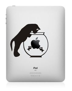 iPad Decal iPad Stickers iPad Decals Apple Decal for Macbook Pro / Macbook Air / iPad / iPad2 / New ipad / iPhone 4 on Etsy, $7.60
