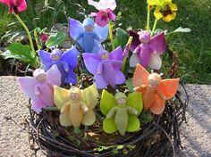 Schmetterlingselfen blumenkinder-und-deko