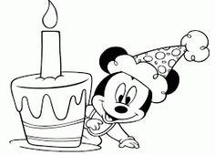 Mickey mouse bebe para colorear gratis  bebe  Pinterest  Mickey