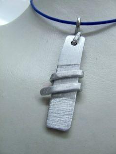 Kette silber von BRIsART - Design  auf DaWanda.com Arrow Necklace, Etsy, Bracelets, Jewelry, Design, Neck Chain, Silver, Schmuck, Jewlery
