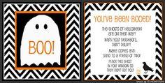Boo! free printable
