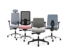 The range of Martela's James task chairs has been renewed and now offers more alternatives. The James chairs are perfect for drop-in workstations but also suitable for longer sessions.