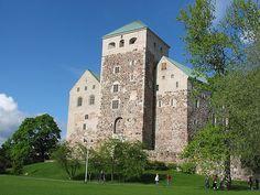 Turku Castle in Spring by Matzen
