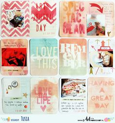 Project Life by Tusia Lech with Becky Higgins and Heidi Swapp products